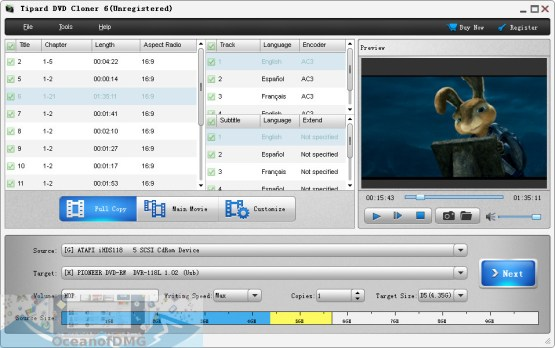 Tipard DVD Cloner for Mac Direct Link Download-OceanofDMG.com