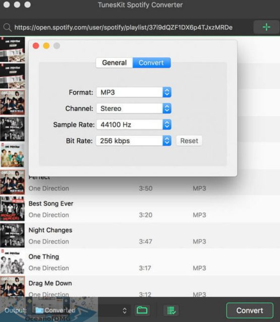 TunesKit Spotify Converter for Mac Direct Link Download-OceanofDMG.com