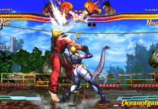 Street Fighter X Tekken game setup