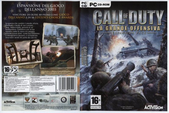 Call Of Duty United Offensive PC game free
