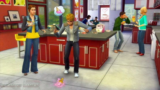 The Sims 4 Cool Kitchen Features