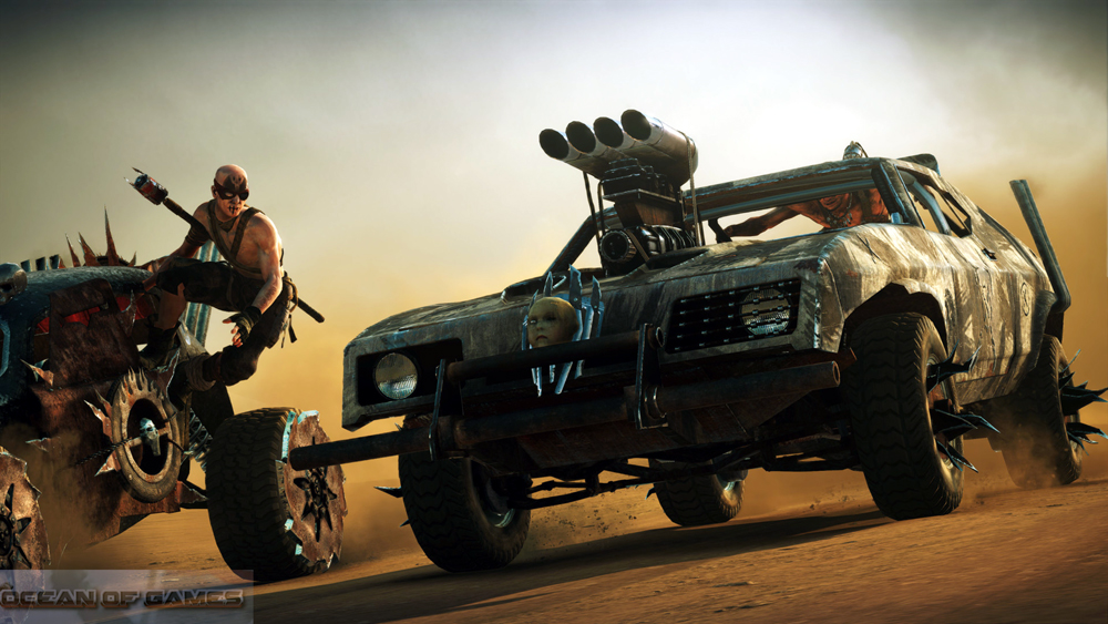 Mad Max PC Game Download For Free