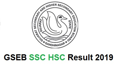 Gujarat Board SSC/HSC Result 2019 | GSEB Results 2019