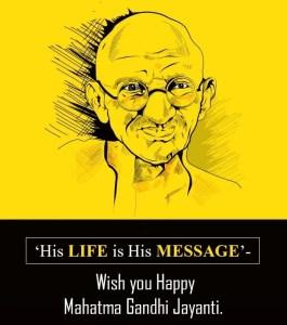 wishes for gandhi jayanti