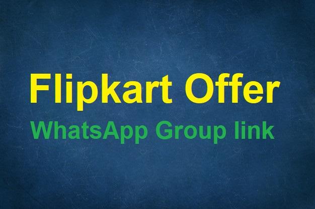 Top 5 Flipkart Offer WhatsApp Group link