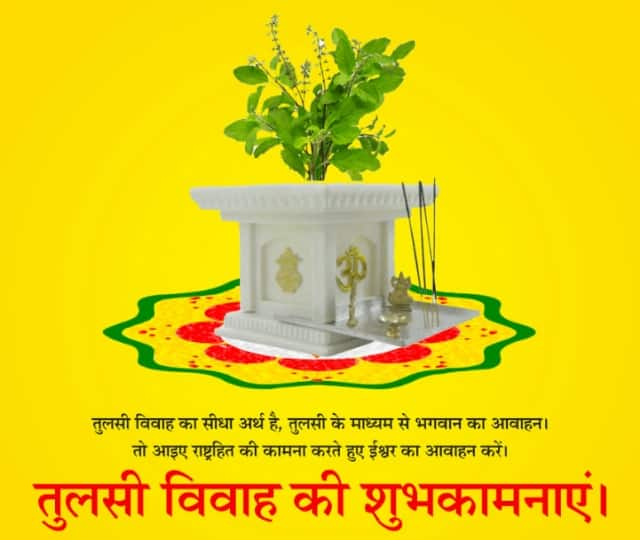 images of tulsi vivah