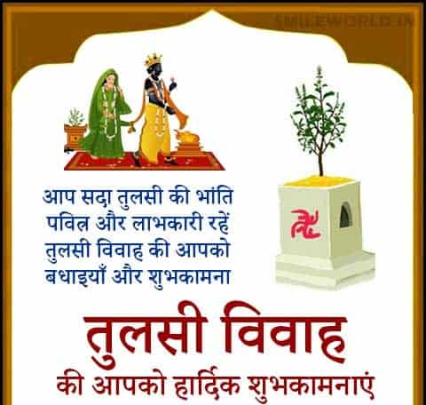 wishes for tulsi vivah