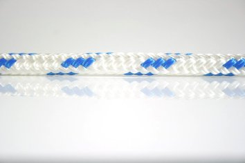 Ocean Rope Braid on Braid Blue Fleck