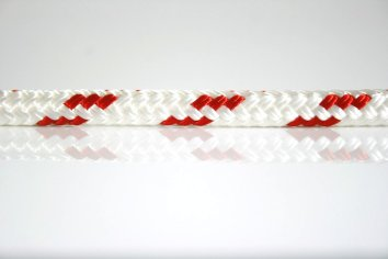 Ocean Rope Braid on Braid Red Fleck