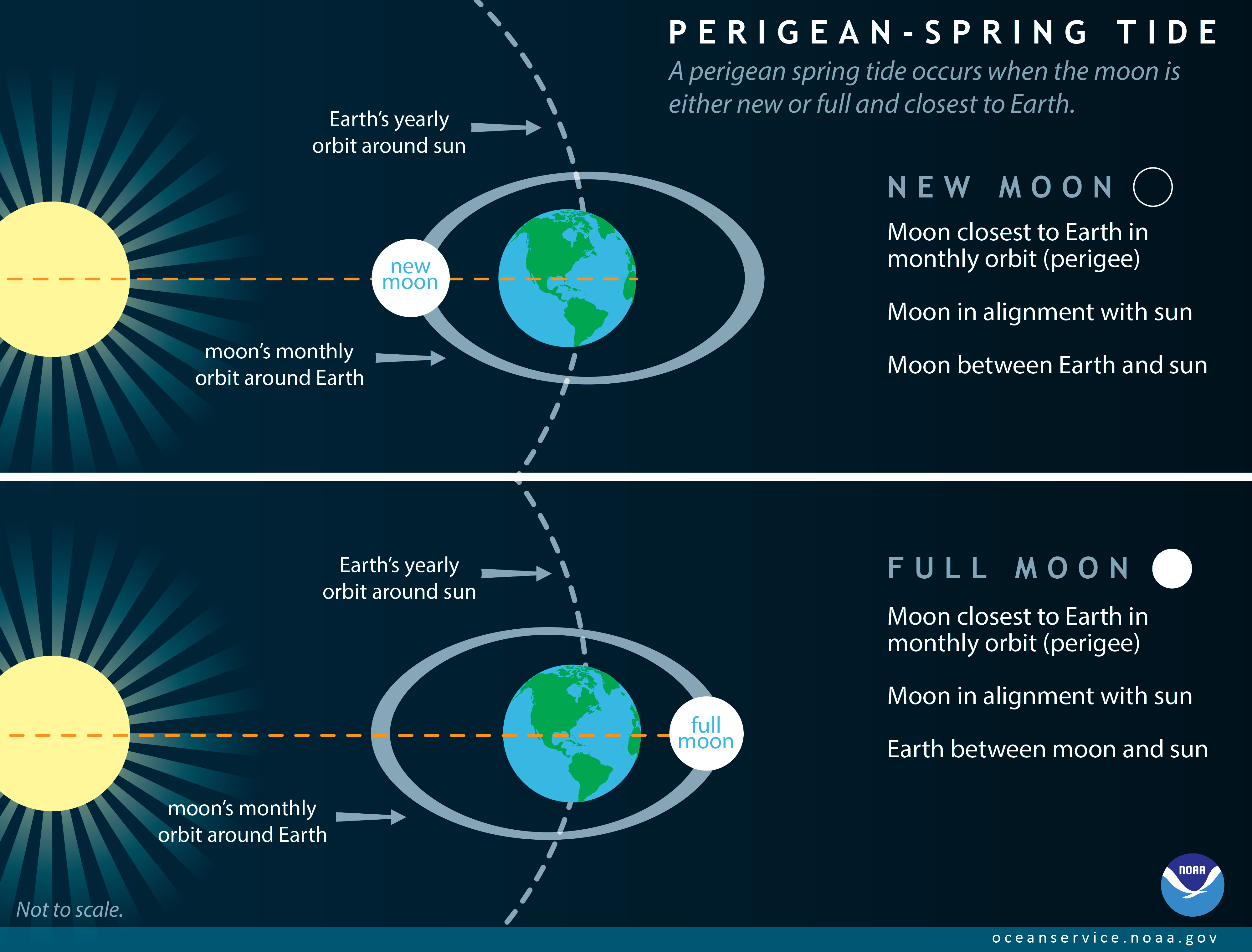 What Is A Perigean Spring Tide