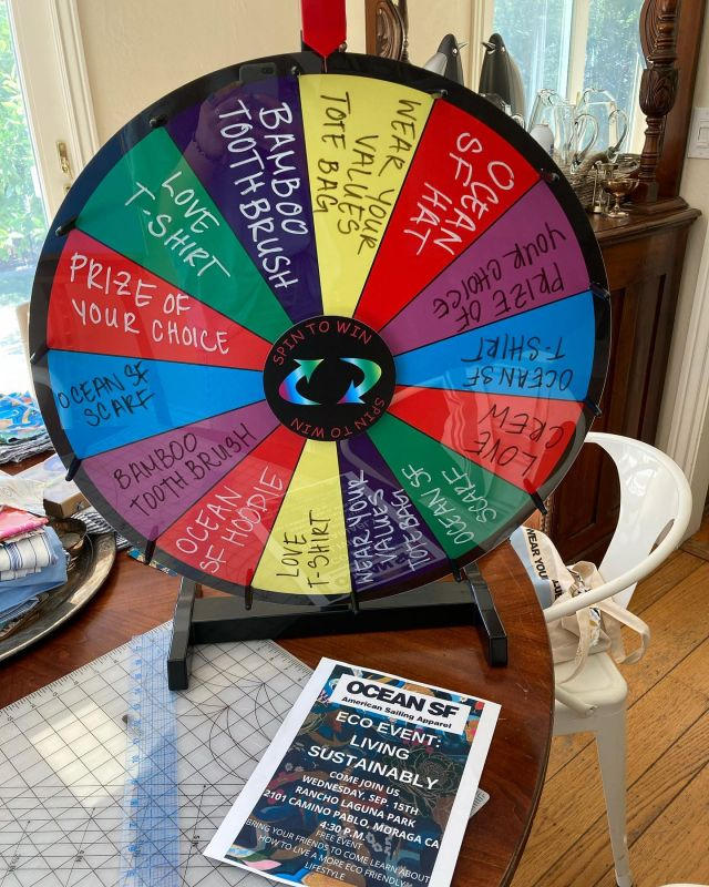 Join us and spin the wheel of fortune to win FREE PRIZES at our FREE EVENT today at 4:30 pm at Rancho Laguna Park in Moraga, CA