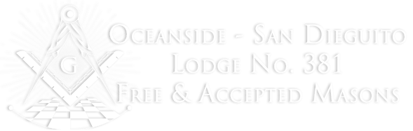 Oceanside – San Dieguito Masonic Lodge No. 381