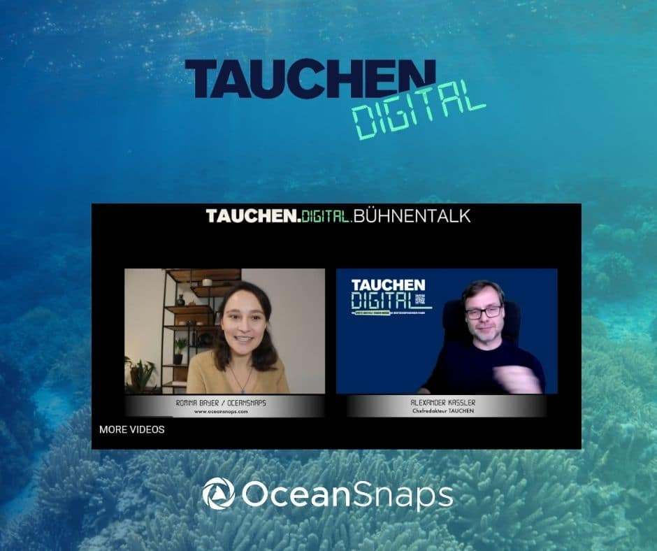 5 Tipps für bessere Unterwasserfotos- Bühnentalk auf der Tauchen Digital