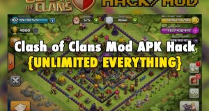 Clash of Clans Mod Unlimited Coins Elixir and Gemes