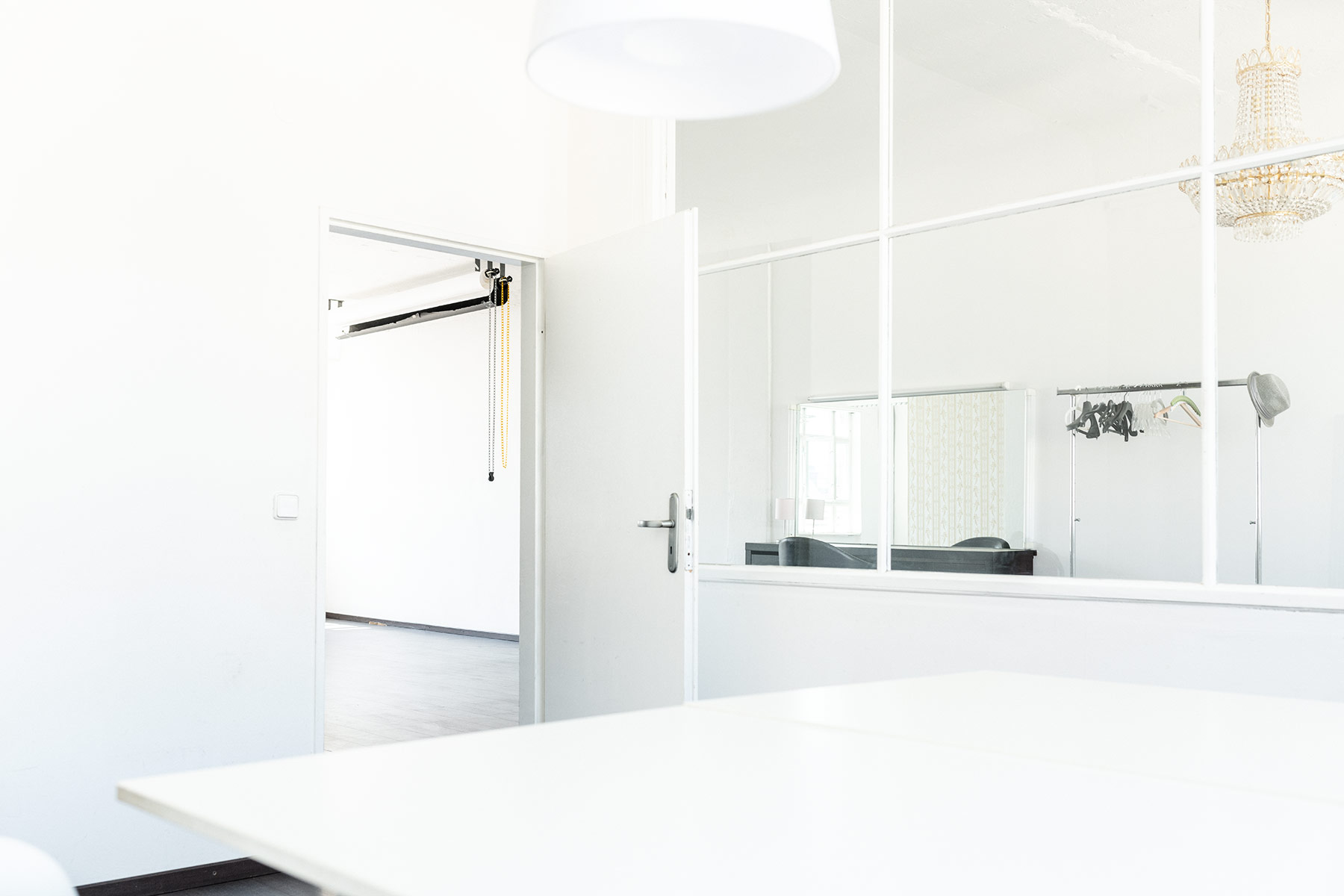 Mietstudio für Fotografen Berlin Blick aus dem Office