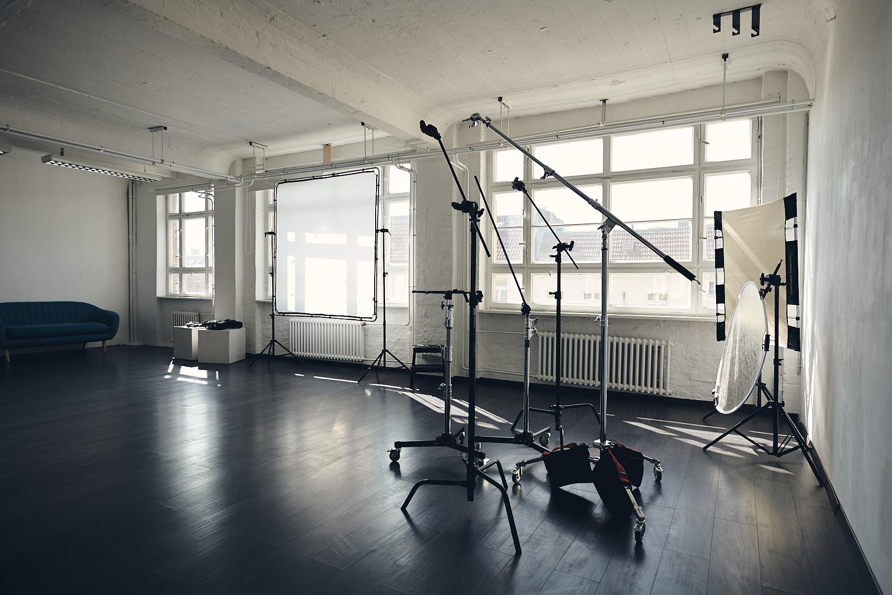Tageslichtstudio Fotostudio mieten Mietstudio Berlin