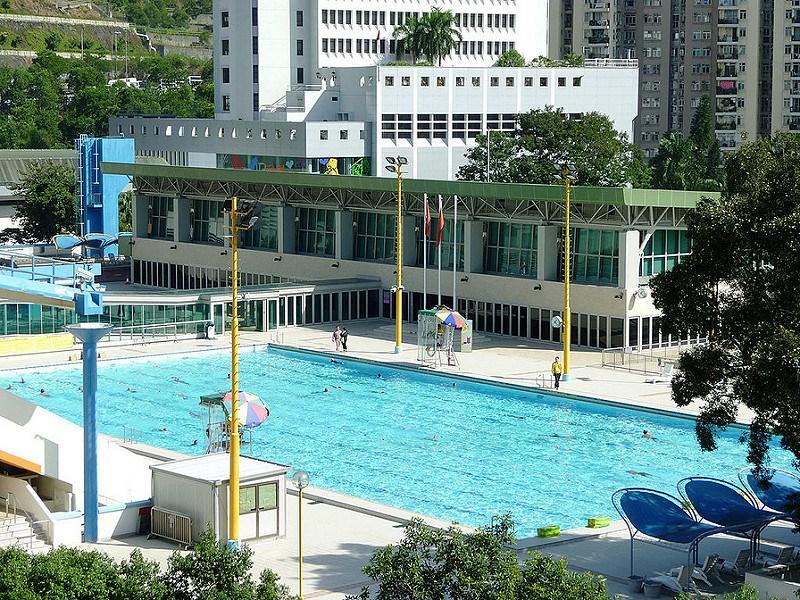 荔枝角公園游泳班泳池