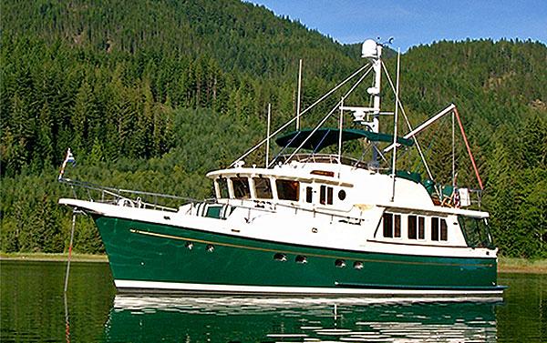 Selene 50 Trawler Yacht Full Specification Ocean Trawler