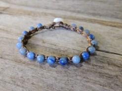 Ocean Tuff Jewelry - Blue Aventurine Gemstone Bracelet
