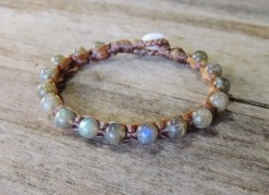Ocean Tuff Jewelry - Labradorite Gemstone Bracelet
