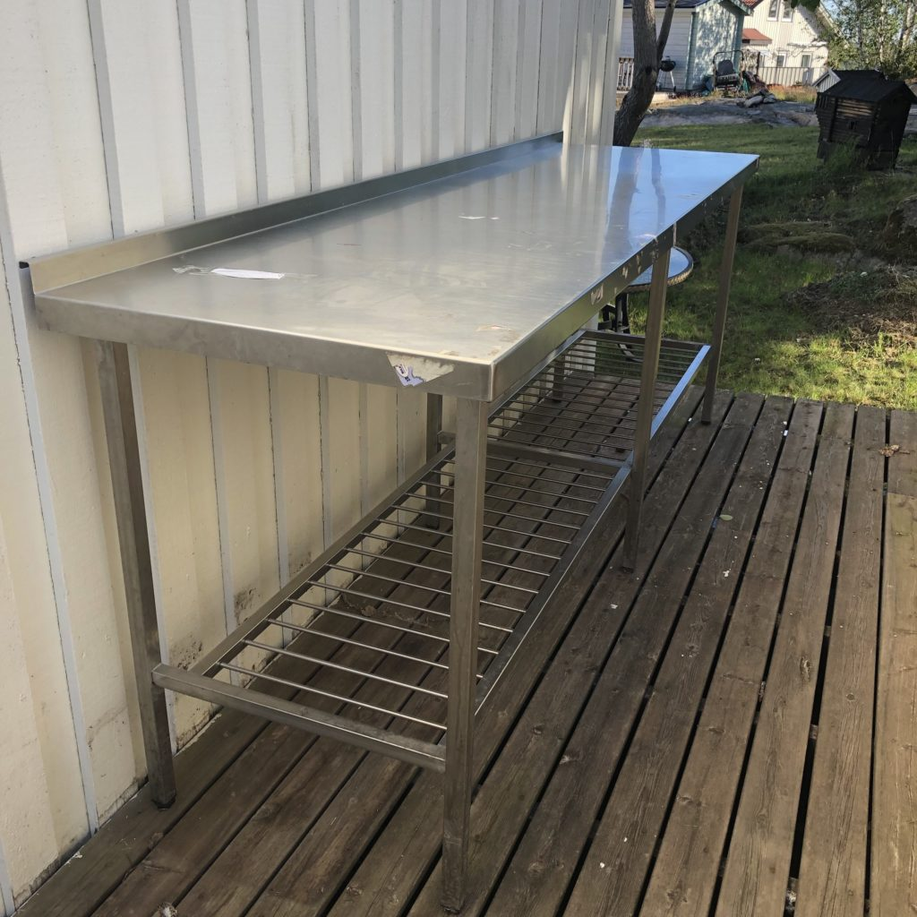 Stainless steel for the man cave