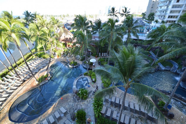 Hilton Grand Vacation Hawaii Pools