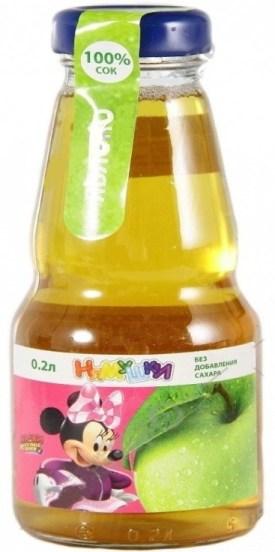 Сок яблочный торговой марки «Нямушки