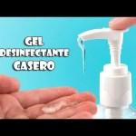 Cómo hacer desinfectante de manos en casa