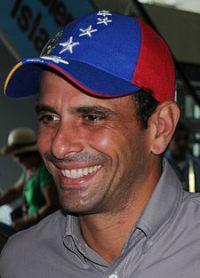 a oposição Henrique Capriles