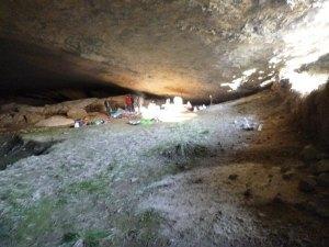 Vivac en cueva
