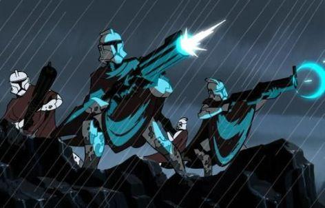 clone wars - Buenos tiempos para Star Wars
