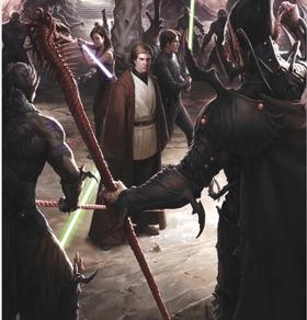 Jedi vs Shimrra - Star Wars: Disney salvó a la Galaxia de una gran invasión.