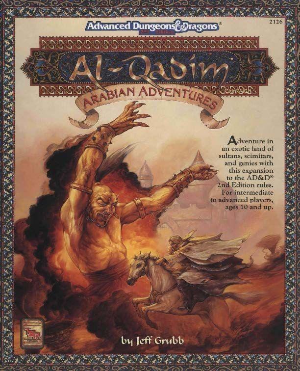 Hay un genio y un señor con turbante. ¿Es que esto tampoco es árabe o qué?