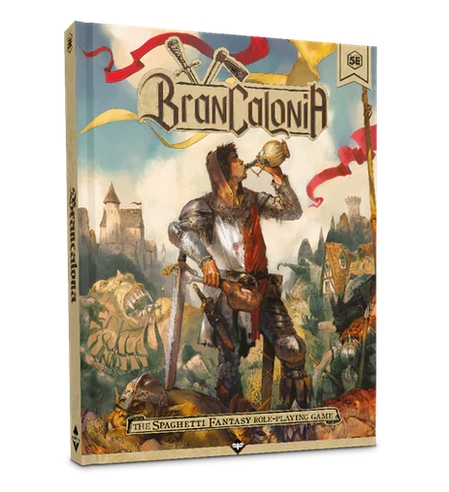 "Branclibro - Brancalonia. Bienvenidos al ""spaghetti-fantasy"""