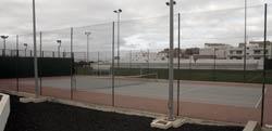 Pistas de tenis, pádel y campo de fútbol del Parque Deportivo Puerto de Arrecife, Lanzarote
