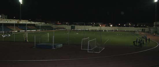Campo de fútbol y pista de atletismo de la Ciudad Deportiva Lanzarote