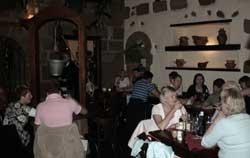 Sala interior del restaurante Bodega La Cascada, Puerto del Carmen, Lanzarote