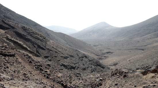Valle de Femés, sendero Femés-Playa Quemada, senderismo en Lanzarote