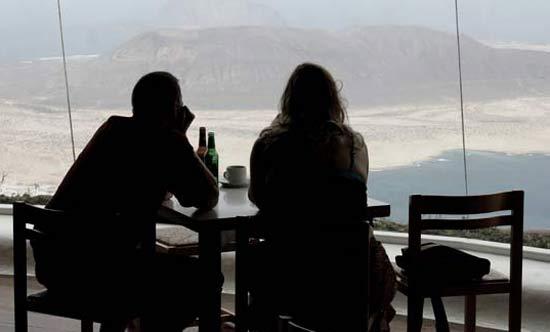 Vistas de La Graciosa desde Mirador del Río, Yé, Lanzarote