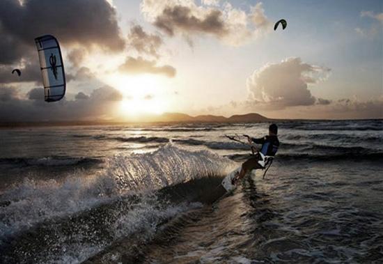 Spanish Kite Surfing Championship in Lanzarote
