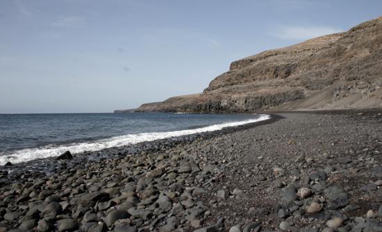 Playa de la arena, Playa Quemada, Lanzarote