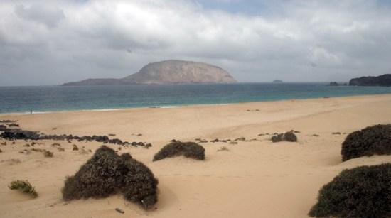 Las Conchas, La Graciosa, Lanzarote, playas