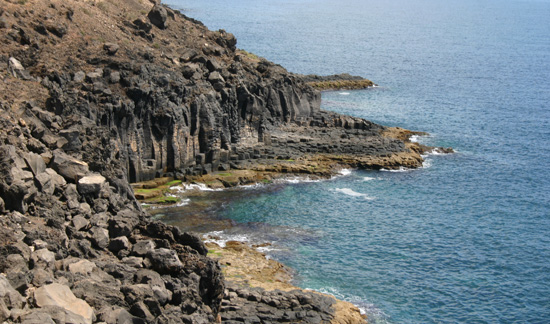 Barranco del Quíquere,  cala de Puerto del Carmen