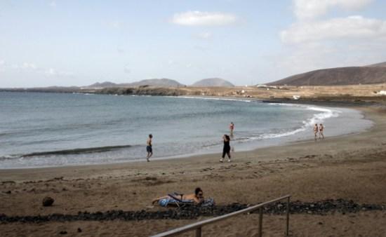 Playa de La Garita, Arrieta, Lanzarote