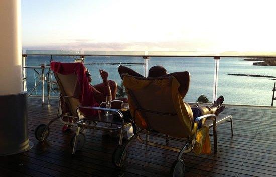 Terraza La Piscina del Gran Hotel de Arrecife