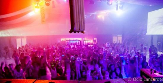 Pista de baile de la discoteca Aqua de Arrecife