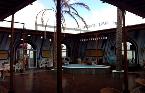 Interior de Café del Mar, Playa Blanca, Lanzarote