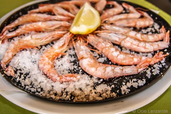 Pescadito y marisco fresco, señas de identidad de la cocina de Casa Tere en Playa Honda