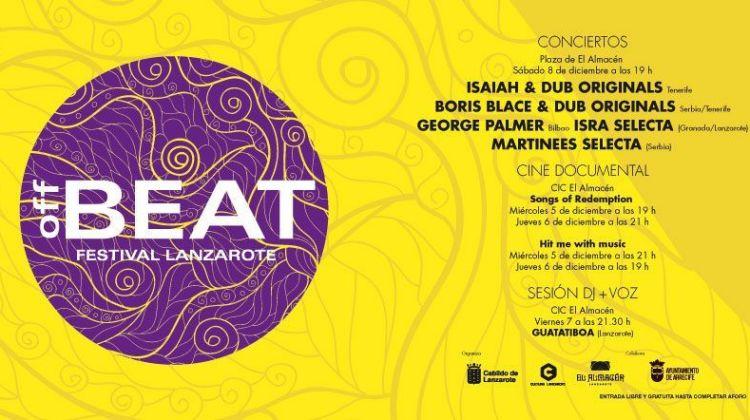 Festival OffBeat Lanzarote 2018