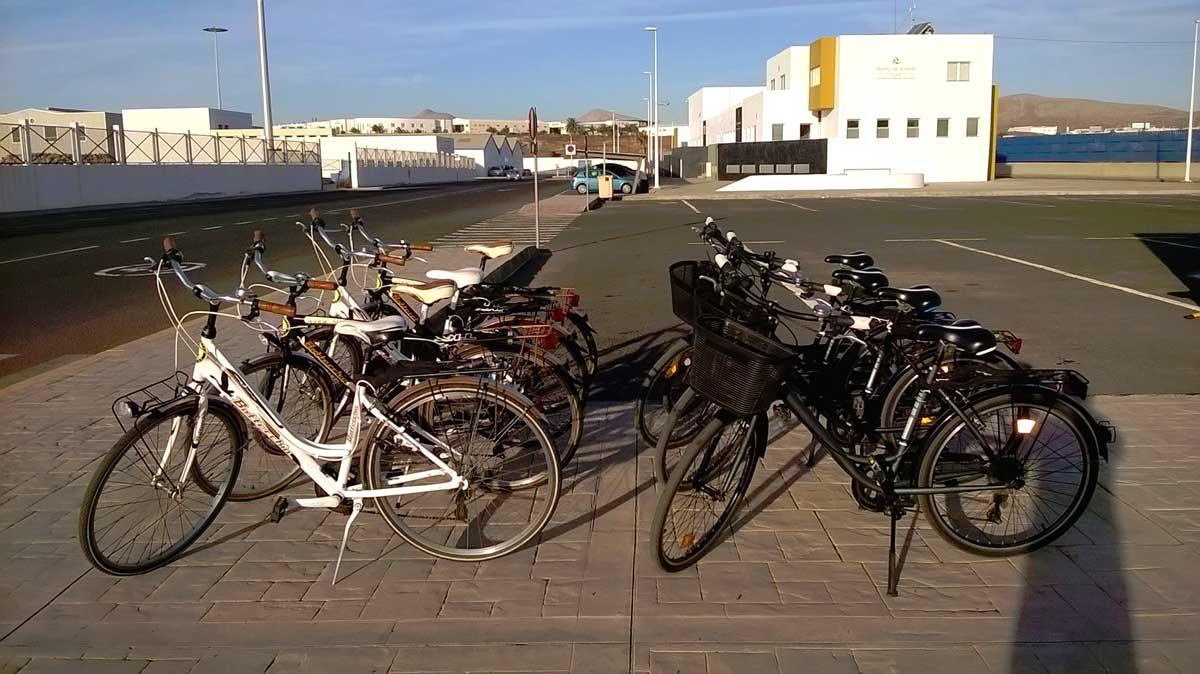 alquiler de bicicletas en Los Mármoles